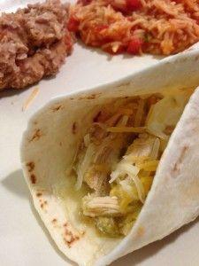 Slow Cooker Salsa Verde Tacos | The Cookin Chicks