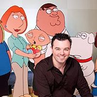 Seth MacFarlane appeared in episode 410 of Shark Tank to help a friend pitch his innovative fly trap. MacFarlane had one VERY BIG problem with his pitch. Seth Macfarlane, Shark Tank, Family Guy, People, Fictional Characters, Fantasy Characters, People Illustration, Folk, Griffins