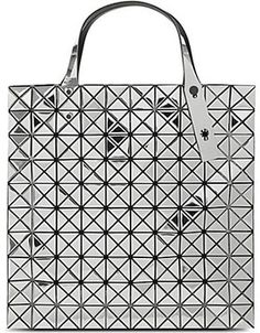 BAO BAO ISSEY MIYAKE Mirror Prism tote on shopstyle.co.uk Issey Miyake, Japan Fashion, Bao, Fashion Boutique, Tote Bag, Silver, Mirror, Stuff To Buy, Shopping