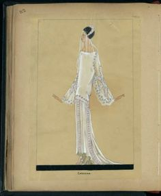 Robe de mariée CATARINA Hiver 1924 © Patrimoine Lanvin. #Lanvin125
