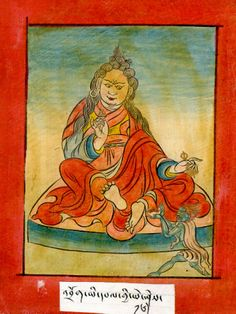 Palgyi Yeshe of 'Brog. Studied and translated tantras exuberantly, initiated into the mandala of Lhamed Heruka. He received the transmission of the Mother Deities from Padmasambhava and became an accomplished mantrika. A liberating presence in the human and non-human worlds, 'Resplendent Wisdom' practiced meditation above treeline and taught many accomplished disciples.