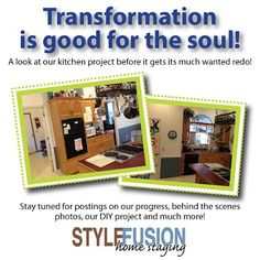 Who doesn't love a transformation? A kitchen makeover. Our collaboration with Sterling Decor.