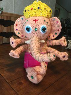 Crochet Ganesh.