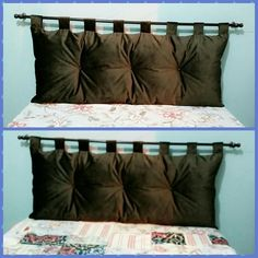 Cabeceira de cama box, para deixar sua cama ainda mais confortável.