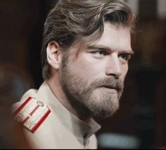 Kivanc Tatlitug as Kurt Seyit Eminof in the Turkish TV series Kurt Seyit ve Sura 2014.
