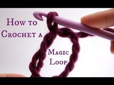 CreatiKnit | How to crochet a Magic Loop …it's so easy!