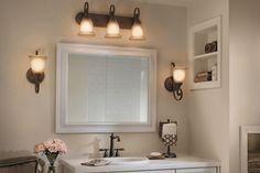 Best Bathrooms Images On Pinterest Bath Ideas Bathroom Ideas - Kichler bathroom sconces