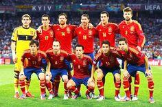EQUIPOS DE FÚTBOL: SELECCIÓN DE ESPAÑA Campeona de la Eurocopa 2012