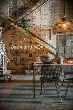 One World interiors - Elements folding table & Jane outdoor chair - Picture: Paulina Arcklin