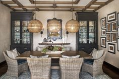 Design Tricks to Warm a Chilly Room: Choose soft textures - HomePortfolio. Dining Room by Phil Norman