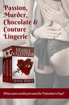 As romance grows, so too does Tess and Jack's propensity to get into trouble.  If you like romance mixed with your mystery, the Valentine Mysteries are for you. In this collection, you'll get books 1 through 3.