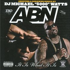 Abn - It Is What It Is (Chopped & Screwed) [Explicit Lyrics] (CD)