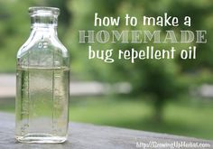 Favorite Things: How to Make Homemade Bug Repellent Oil | Primally Inspired