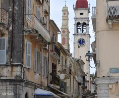 Corfu Town, San Francisco Ferry, Greece, Saint, Building, Travel, Facebook, World, Places