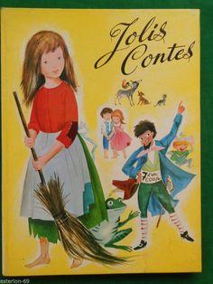 JOLIS CONTES PERRAULT FRERES GRIMM 1960 monj livre de contes