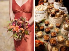 rustic dessert bar photography by Hilary Maybery