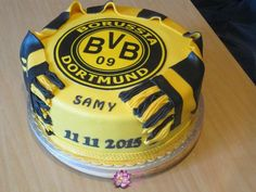 Borussia Dortmund Football team cake - Cake by Mary Yogeswaran