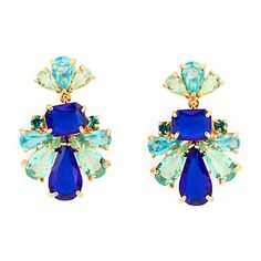 Crystal Bauble Bouquet Earrings