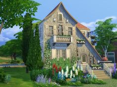 Sims 4 Lot Clara Cottage