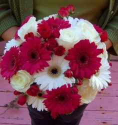 Just love the two flowers together!