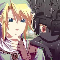 Link & Twilight Princess