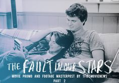 tfiosmovienews: TFiOS Movie Promo and Footage Masterpost: Part 2 This is an ext. Entertainment Tonight, Entertainment Weekly, Boom Clap, Access Hollywood, Star Tours, The Ellen Show, Star Quotes, Tfios, What Is Your Name