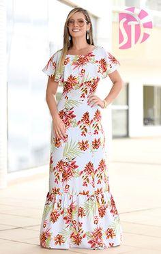 Cute Floral Dresses, Beautiful Maxi Dresses, Modest Dresses, Beautiful Outfits, Casual Dresses, Nice Dresses, Fashion Dresses, Stylish Kurtis Design, Stylish Dress Designs