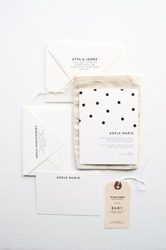 Set aus Karte, Stoffbeutel, Geschenkanhänger, Umschlag