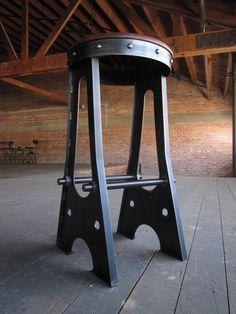Vintage Industrial A Frame Bar Stool / by VintageIndustrial, $425.00