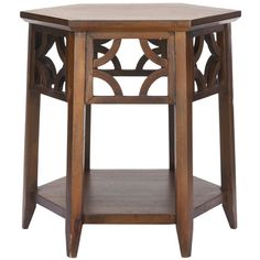 Safavieh Connor Hexagon End Table & Reviews | Wayfair