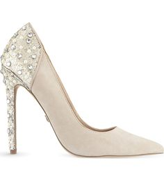 Faith Pale Pink High Diamante Heel Platform Court Shoes At Debenhams Things To Wear Pinterest Exclusive And