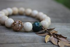 Hey, I found this really awesome Etsy listing at https://www.etsy.com/listing/247071982/beaded-bracelet-10mm-riverstone-bracelet