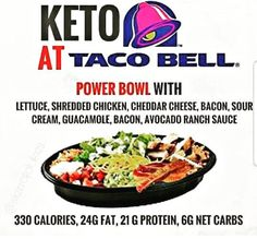 Getting hungry while on that road trip? On a lunch break and need a quick meal? Do you want a healthier alternative without feeling deprived? I have the answer that won& cost you the guilt. KETO at Taco Bell Keto Fast Food, Keto Foods, Fast Healthy Meals, Quick Meals, Diet Plan Menu, Keto Meal Plan, Low Carb Recipes, Diet Recipes, Bariatric Recipes