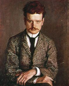 Portrait of Sibelius by his brother-in-law Eero Järnefelt (circa Scandinavian Paintings, Classical Music Composers, Find Icons, Upcoming Concerts, Found Art, Music Pictures, Popular Music, Music Love, Les Oeuvres