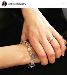 Clear Quartz and Buddha head Bracelet/ Clear Quartz/ Gemstone/ | Etsy