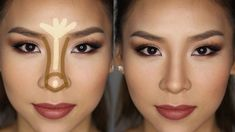 How To Make Your Nose Thinner With Makeup