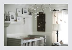 a GREAT gender neutral nursery!  I like this especially once you add a few pops of color!