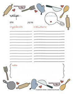 family recipe book template                                                                                                                                                                                 More