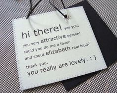 Personalized leather luggage label that Charms its way Off the Carousel into Your Arms.