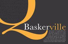 Baskerville - the font