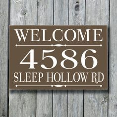 This is a personalized hand-painted house address sign. It is 100% painted with no vinyl on the sign. Perfect for Home Decor and new house housewarming gift. This sign measures approx 17x11.25 with hole drilled in the back for easy hanging. Made from wood with a satin clear coat