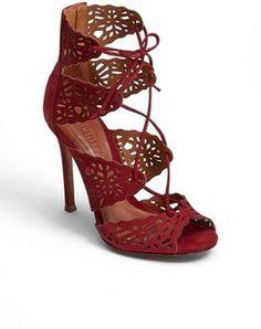 Schutz 'Ciara' Perforated Sandal on shopstyle.com