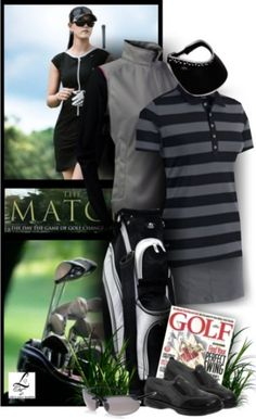 Play with comfort and style in this golf style! #golf #ootd #lorisgolfshoppe