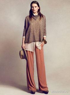 Мода и стиль: Объемные свитера и кардиганы: с чем сочетать