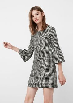 Ruffle printed dress | MANGO