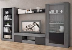 Best Home Cabinet Design Ideas For Comfy Family Room Tv Cabinet Design, Tv Wall Design, Living Room Tv Unit, Living Room Decor, Tv Furniture, Furniture Design, Home Theather, Modern Tv Wall Units, Cozy Family Rooms
