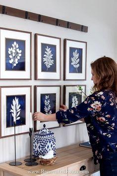 12 Free Blue Botanical Prints (FREE PRINTABLES)