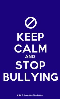 October is Bullying Prevention Awareness Month - visit: stopbullying.gov
