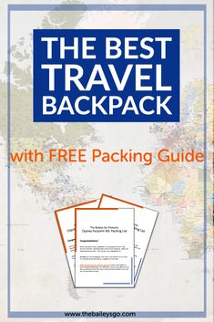 Packing Hacks, Packing Tips For Travel, Budget Travel, Travel Ideas, Travel For A Year, Osprey Farpoint, Best Travel Backpack, Traditional Books, Best Travel Guides
