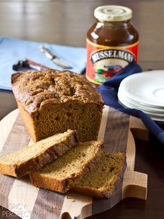 Irish Apple Beer Bread for St. Patty's Day | ASpicyPerspective.com #irish #stpattysday #saintpatricksday